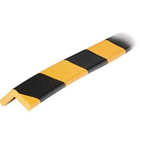 Eckschutzprofil Typ E, lfm., gelb/schwarz