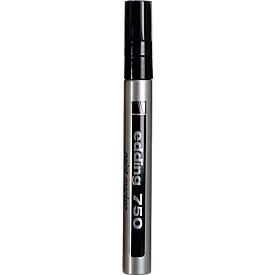 EDDING paint markers 750, 2-4 mm, zilver, 1 stuk