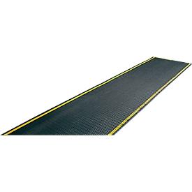 EHA-industrierooster +11, zwart/geel, 0,6