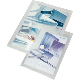 EICHNER documenthoesje, A5, klittenbandsluiting, PP
