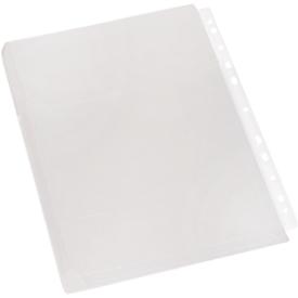 EICHNER Dokumentenhülle, DIN A4, oben offen, 10 Stück, transparent