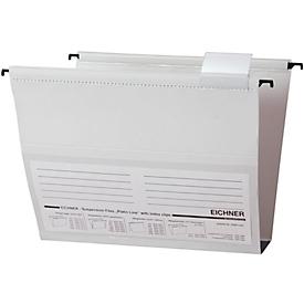 EICHNER Hängesammler, für Formate bis DIN A4, 15 mm, seitlich offen, PVC