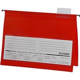 EICHNER hangsnelhechters,  A4, 10 stuks,  rood
