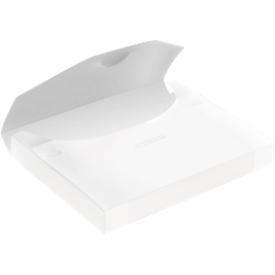 EICHNER Sammelbox, überbreit, Steckverschluss, Polypropylen, 5 Stück, transparent