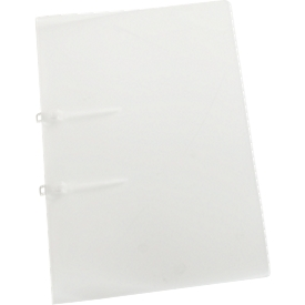 EICHNER snelhechtmap met lus STRIP, A4, polypropeen, 10 stuks, doorschijnend