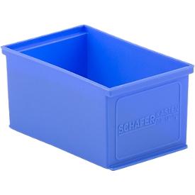 Einsatzkasten EK 14-2, blau, PE, 20 Stück