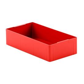 Einsatzkasten EK 14-4, rot, PE, 12 Stück