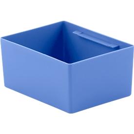 Einsatzkasten EK 6081, PP, blau
