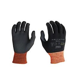 Elastaan gebreide handschoen Multitex, met nitril microschuimcoating, 12 paar, maat XXL