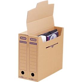 ELBA Archiv-Schachtel tric system Klein, 12 Stück, B 76 x T 339 x H 314 mm