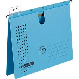 ELBA chic® ULTIMATE Hängehefter, DIN A4, blau, 25 Stück