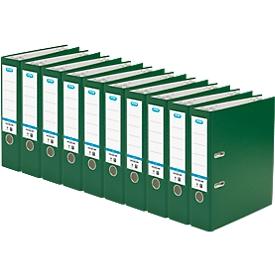ELBA ordner Smart, A4, rugbreedte 80 mm, 10 stuks, groen