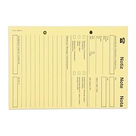 ELCO OFFICE Telefonblöcke, gelb Color, 5 Stück
