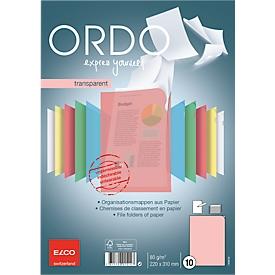 ELCO Ordo Sichthüllen, 10 Stück, rot