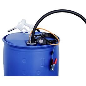 Electrobomba CEMO CENTRI SP 30, 12V, para AdBlue®, diésel, agua fresca y anticongelante del refrigerador, manguera + cable 4m, válvula de surtidor