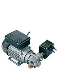 Electrobomba CEMO Viscomat-Flowmat 200/2, 230V, 800W, 9l/min, para lubricante, con manóstato, conexión bilateral 1