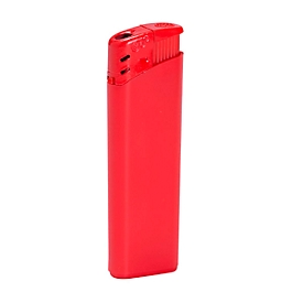 Elektr. Feuerzeug, Rot, Standard, Auswahl Werbeanbringung optional