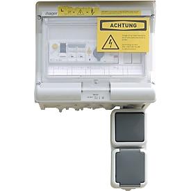 Elektro-installatiepakket, uitvoering voor niet-ontvlambare, waterverontreinigende stoffen