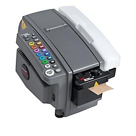 Elektronische tapedispenser VARIO 555eMA, voor natte tapes met B 40-80 mm, 14 lengtes 150-1450 mm, 1150 mm/s, kunststof & staal, grijs