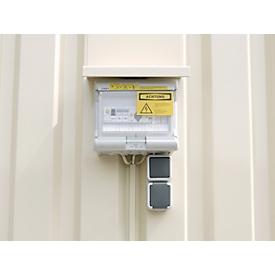 Elektrostation IP 44, voor materiaalcontainer MC 1100-1600