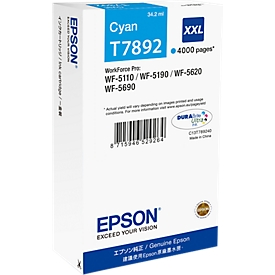 Epson Tintenpatrone T789240XXL cyan, original