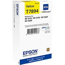 Epson Tintenpatrone T789440XXL gelb, original