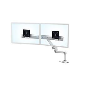 Ergotron direct-bureautafelarm LX Dual, voor 2 beeldschermen, met tafelklem, tot 10 kg