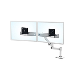Ergotron Direkt-Schreibtischarm LX Dual, f. 2 Monitore, m. Tischklemme, bis 10 kg
