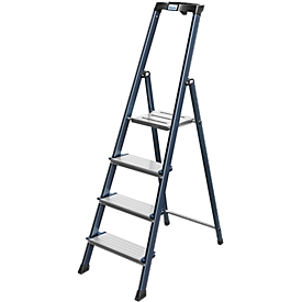 Escalera de tijera escalones confort Securo, 4 escalones