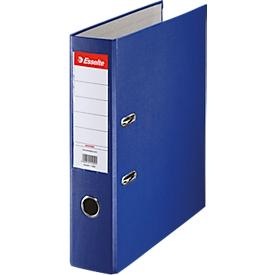 ESSELTE Ordner, A4, Rückenbreite 75 mm, blau