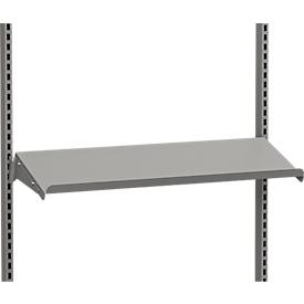 Estante de acero, inclinado, 875 x 300 mm