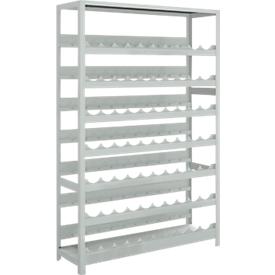 Estantería para vino, sistema de tornillos, 7 compartimentos