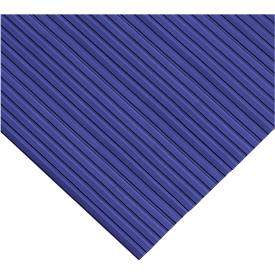 Estera ergonómica, pieza, anchura 800mm, azul