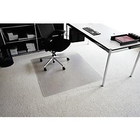 Estera protectora del suelo de Makrolon® transparente, 900 x 1200mm, para moquetas