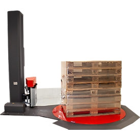 Estiradora KV Even, semiautomática, mesa giratoria con Ø 1650 x H 18 mm, 32 programas, automática. Reconocimiento de la altura