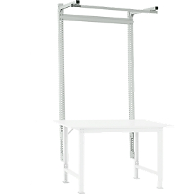 Estructura pórtica adicional Packpool, con brazo saliente, p. mesa de embalaje Packpool, An 1500