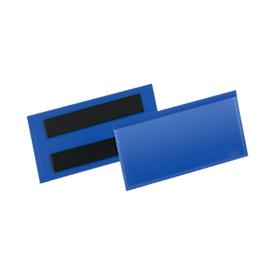 Etiketten- und Kennzeichnungstaschen B 100 x H 38 mm, 50 Stück, blau