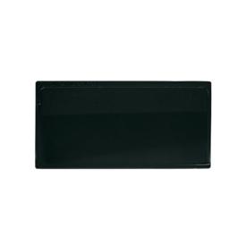 Etikettentasche Label PLUS, selbstklebend, 50x110, schwarz