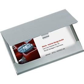 Etui voor visitekaartjes van sigel®