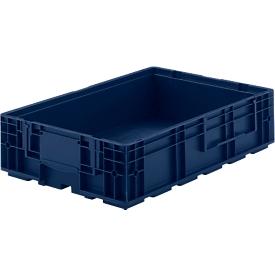 Eurobak R-KLT 6415, polypropeen, B 600 x D 400 mm, tot 20 kg, donkerblauw