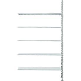 Fachbodenregal FBR 2200, Anbauregal, 1315 x 300 mm, 5 Böden
