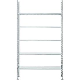 Fachbodenregal FBR 2200, Grundregal, 1345 x 300 mm, 5 Böden