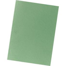 FALKEN Aktendeckel, DIN A4, Karton, grün