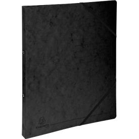 FALKEN Ringbuch, DIN A4, 2 Rund-Ring Mechanik, Rückenbreite 25 mm, schwarz