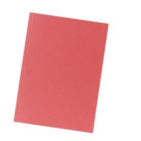 FALKEN Tapas de expediente, DIN A4, cartón, rojo