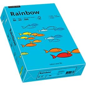 Farbiges Kopierpapier Mondi Rainbow, DIN A4, 80 g/m², blau, 1 Paket = 500 Blatt