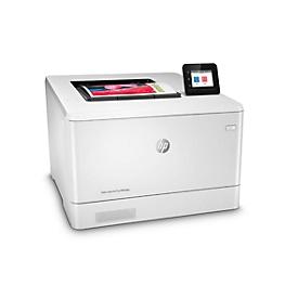 Farblaserdrucker HP Color LaserJet Pro M454dw, WLAN, netzwerkfähig, Duplex, bis 27 Seiten DIN A4/min