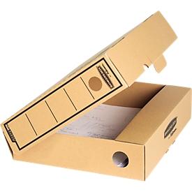 Fellowes Archivschachtel Bankers Box Premium Earth, DIN A4, Wellpappe, 10 Stück