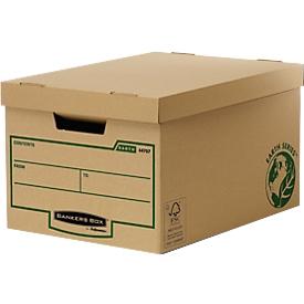 Fellowes Archivschachteln Bankers Box® Earth, f. bis 5 Archivschachteln, 10 Stück