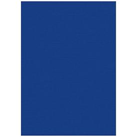 Fellowes Deckblatt Leinen, DIN A4, für Bindemaschinen, 100 Stück, blau, 250g, 25 Stück